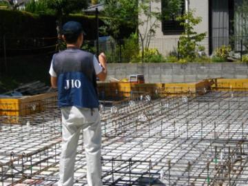 瑕疵担保責任保険(JIO)配筋検査