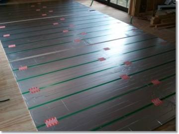 ガス床暖房マット